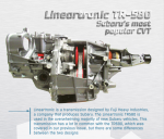 Lineartronic TR-580: Subaru's most popular CVT