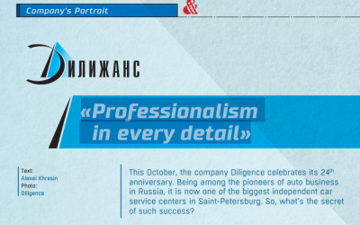 "Обложка для статьи Diligence company ""Professionalism in every detail"""