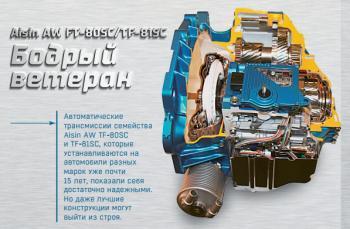 Aisin AW TF-81SC: A vigorous veteran - The AKPPro Magazine