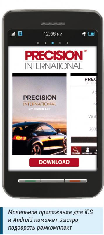 Precision International App